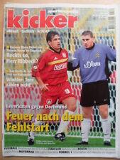 KICKER 78 - 21.9. 1998 Kirsten Klos Leverkusen-Dortmund 3:1 Bayern-HSV 5:3