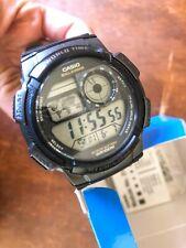 **NEW** Casio World Time Illuminator Digital Watch — 5 Alarms48 Cities, AE1000W