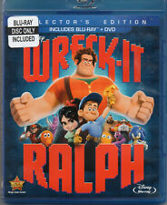 Wreck-It Ralph (Blu-ray 2013) Blu-ray only No DVD