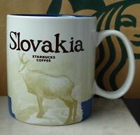 Starbucks City Mug Tasse Becher Cup Slovakia Slowakei 16oz NEU