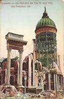 San Francisco, CA - April 18, 1906 Earthquake & Fire - Southside of City Hall