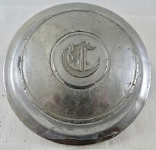 "1930 1931 Chrysler Imperial Old English ""C"" MOPAR Wire Wheel Hubcap"
