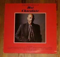 The Very Best Of Hot Chocolate Vinyl LP Comp 33rpm 1987 EMI – EMTV 42