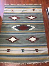 Area Rug Wool Kilim 4'X6' (KL109)