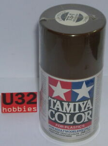 Tamiya 85001 TS1 Spray Painting Acrylic Red Bus Brown For Model 100Ml