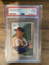 1952 Bowman #196 Stan Musial (HOF) St. Louis Cardinals - PSA 2