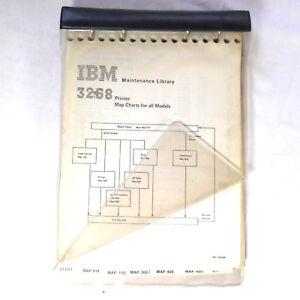 IBM Maintenance Library 3268 Printer Manual  Map Charts 4 all Models  + Diagrams