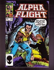 Alpha Flight # 13 thru 24  - 12-ISSUE OF ALPHA FLIGHT - Marvel, 1984-85 - VF/NM
