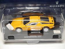 Maserati Bora 1971 in orange gelb giallo jaune yellow, GP #19 in 1:43 boxed