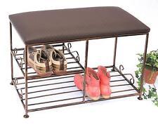 Armoire à chaussures avec banc art.295 Banc 70 cm Meuble à chaussures en métal