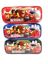 Disney Incredibles 2 Authentic Licensed Pencil Case-3 Pack