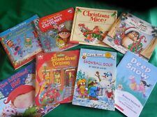Lot of 8 Children's Christmas Books: Little Critter*Fisher-Price*Mice*Sesame*Elf