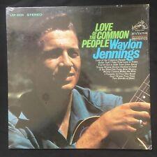 WAYLON JENNNGS Love Of The Common People RCA SHRINKWRAP LSP 3825 VINYL LP