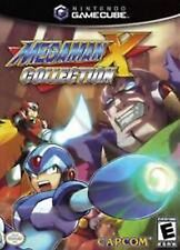 Mega Man X Collection Complete in case w/ manual Black Label great shap Gamecube