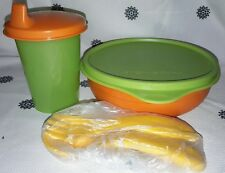 Tupperware kids sippy cup set