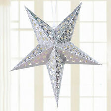 Big Star Pentagram Lampshade Lantern Light Wedding Party Christmas Hanging Decor