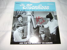 The Monkees Rare 45rpm Daydream Believer/Sally signed by Micky Dolenz Peter Tork