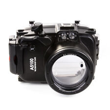 40M Waterproof Camera Housing fr Sony A5100 + 16-50mm Lens Underwater Case Cover