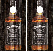 Jack  Daniels Cornhole Wrap Boards Vinyl Skins Decals Bag Toss Game Stickers