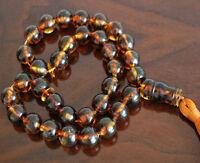 Baltic Amber 33 islamic prayer beads Misbaha Tasbih 46 g