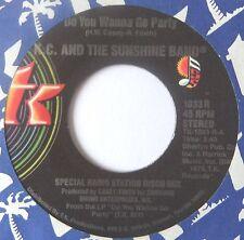 "KC & THE SUNSHINE BAND : Do You Wanna Go Party -Radio Station Mix- (USA 7"")"