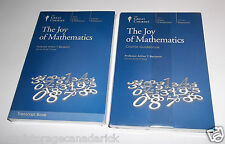 The Great Courses The Joy of Mathematics 4 DVD Set w/ Transcript & Course Book