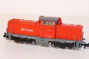 N Gauge Fleischmann DB Cargo BR212 Red --- Needs Attention