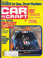 Car Craft Magazine Bracket Racing Trucks Blue Max March 1976  FREE US S/H