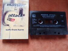 1991 CASSETTE SINGLE BY MASSIVE ATTACK-SAFE FROM HARM-VG CON.