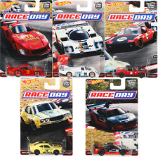HOT WHEELS CAR CULTURE 2017 RACE DAY SET 5 ACURA MAZDA PORSCHE 1/64 DJF77-956J