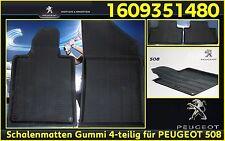 Paßform Gummimatten, Fußmatten, Schalenmatten, Peugeot 508, 508 SW OE 1609351480