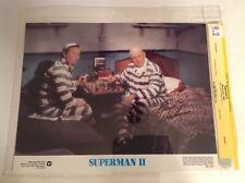 CGC 9.2 SS Superman II 2 Lobby Card Lex Luthor signed Gene Hackman 1980 11x14