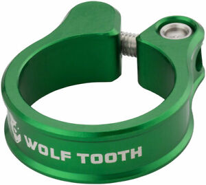 Wolf Tooth Seatpost Clamp 34.9mm Green