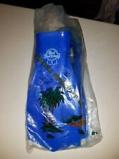 Vintage Pabst Blue Ribbon PBR Haipai Swimming Set - Flippers & Snorkel orig. Bag