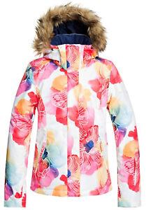 2020 Roxy Jet Ski Women's Snow Jacket Aquarel Flowers NEW