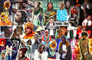YOUNG THUG Collage Poster