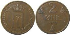 elf Norway 2 Ore 1939 World War Ii
