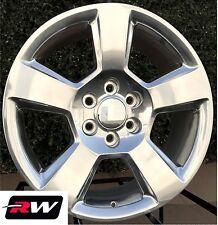 "20"" inch Wheels for Chevy Silverado 5652 Polished Aluminum 20x9"" Rims 6x139.7"