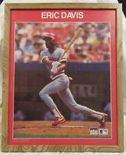 "1988 Framed Eric Davis Cincinnati Reds MLB Starline POSTER 16""x 20"""