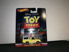 Hot Wheels Premium TOY STORY PIZZA PLANET TRUCK Metal Metal Real Riders