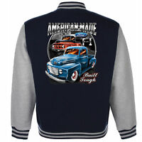 Ford Baseball Varsity Jacket American F1 Pick Up Classic Vintage V8 Muscle Car