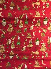 Patchworkstoff Baumwolle Free Spirit Christmas Star Makes Glitter 138 Rot Grün