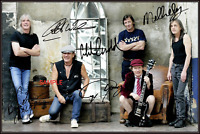 4x6 SIGNED AUTOGRAPH PHOTO REPRINT of ACDC