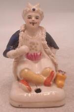 Figura De Cerámica Staffordshire-Sultán sostenedor de la pluma