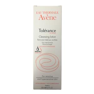 Avene Tolerance Extreme Cleansing Lotion 6.76oz/ 200ml Expires: 3/2022 - New