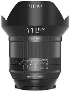 """IRIX 11mm F4 Blackstone Nikon """"neu & org. verpackt"""""""
