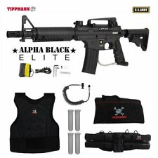 Tippmann Us Army Alpha Elite Tactical Sergeant Paintball Gun Package