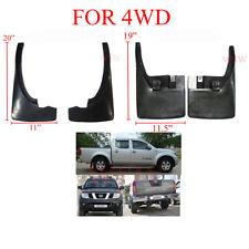 Front Rear Mud Flap Splash Guard Flaps For Nissan Navara D40 2005-2014 Truck Ute