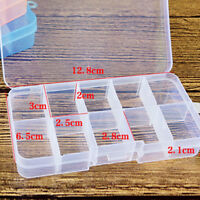 1x Organizer Jewelry Box Plastic Case Slots Container Storage Bead Jewelry 2019