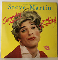 Steve Martin Comedy Is Not Pretty HS3392 Lp Record Ex + Poster